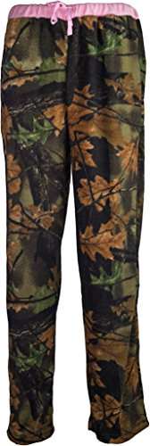 Trail-Crest-Womens-Camo-Lounge-Fleece-Pajama-Pants-W-Magnet