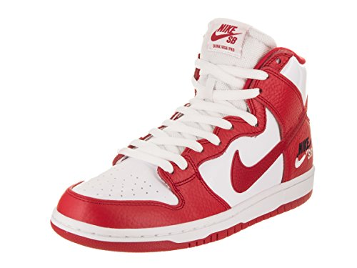 NIKE Men's SB Zoom Dunk High Pro University/Red/Universoty/Red Skate Shoe