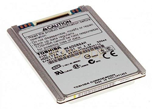 Toshiba MK6008GAH 60GB UDMA/100 4200RPM 2MB 1.8