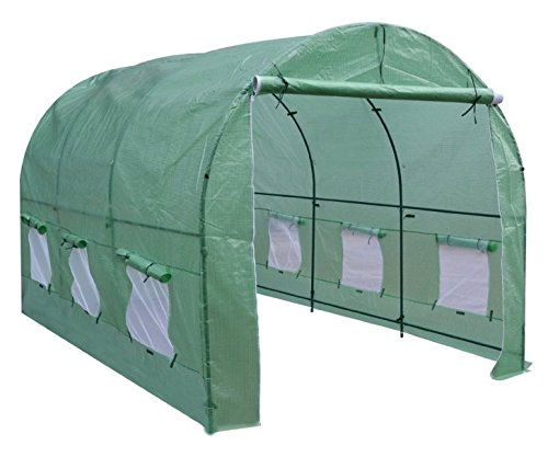 BenefitUSA New Hot Green House Larger Walk in Outdoor Plant Gardening Greenhouse Cover