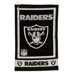 Oakland Raiders Jaquard Golf Towel