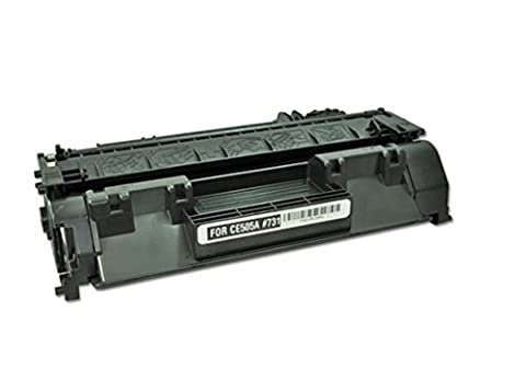 TopTech Toners Compatible Toner Cartridge Replacement for HP CE505A Black (HP 05A) - (1 Pack) (Hp 05a Cartridge)