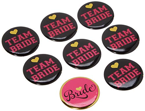Party Bachelorette Buttons (Sassy Bride Buttons)