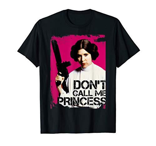 Star Wars Don't Call Me Princess Leia Graphic T-Shirt