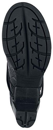 New Rock Armor Negro Bottes Noir EU42