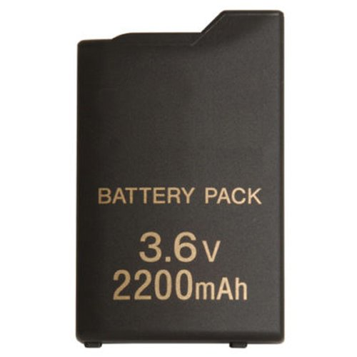 Generic 2200mAh 3.6V Rechargeable Battery Pack Replacement Compatible for Sony PSP 1000 Console