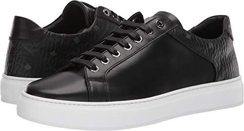 MCM Mens Logo Combi Low Top Sneaker Black 43 (US Men