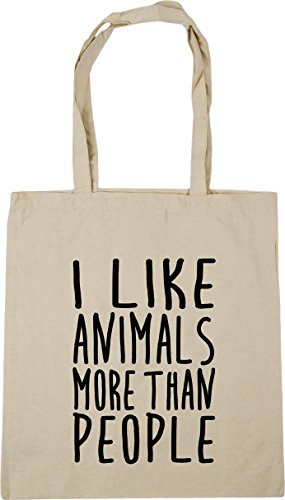 10 litres Natural Beach Shopping like 42cm more x38cm HippoWarehouse people I Tote Gym than Bag animals w6q0zO0fZ