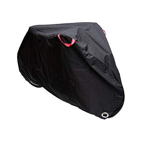 WOTOW Cubierta de bicicleta ciclismo impermeable, funda bicicleta, 210T de alta densidad cubierta de almacenamiento de...
