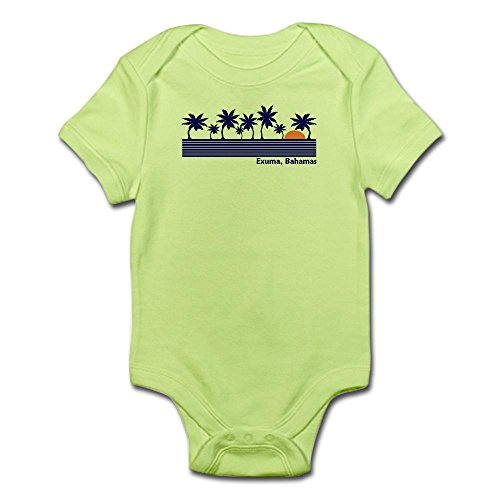 CafePress Exuma, Bahamas Infant Bodysuit - Cute Infant Bodysuit Baby Romper