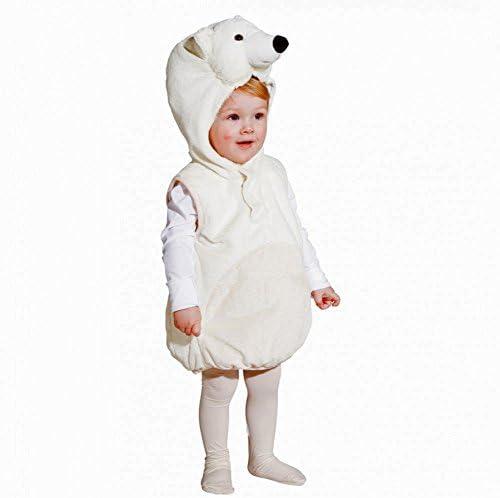 Orlob Karneval GmbH Traje de los niños tamaño del Oso Polar 104 ...