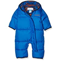 Columbia Baby Boys' Snuggly Bunny Bunting, Super Blue/Super Blue Dot, 3-6 Mon...