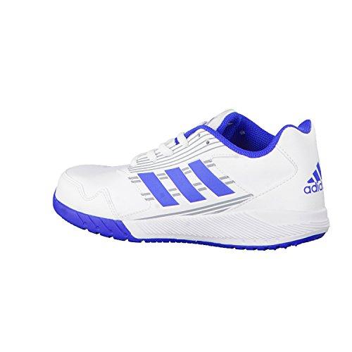 adidas Unisex-Kinder AltaRun K Laufschuhe, Weiß (Footwear White/Blue/Mid Grey), 31 EU