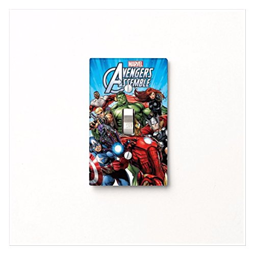 Marvel Avengers Light Switch Covers