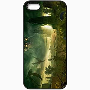Personalized iPhone 5 5S Cell phone Case/Cover Skin Age Of Conan Hyborian Adventures Black