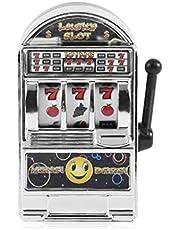 MY1244502 Pudincoco Funny Toy Metal Mini Lucky Máquina tragamonedas de Entretenimiento para diversión
