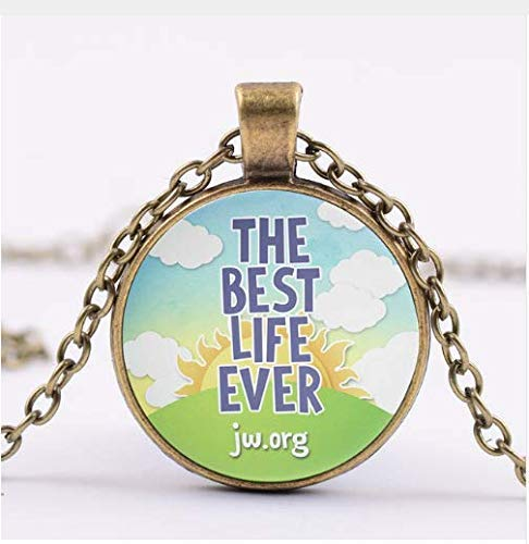 Pendant Necklaces, Jehovah's Witnesses Glass Photo Necklace