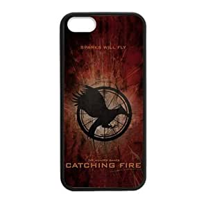 2014 Country Rustic The Hunger Games Catching Fire iPhone 5 5s Case Best Durable Silicone Phone Case for iPhone 5/5s
