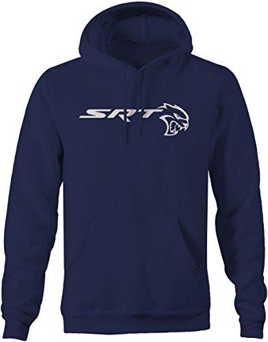 (Lifestyle Graphix SRT Hellcat Mopar Charger Challenger Racing Sweatshirt - Large)