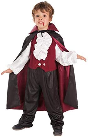 LLOPIS - Disfraz Infantil Vampiro draculín t-m: Amazon.es ...