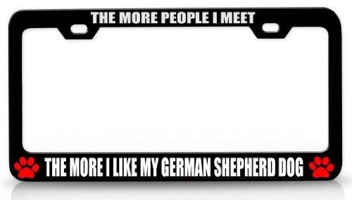 Animal License Plate Frames