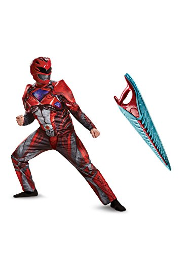 DISG Power Rangers Movie: Red Ranger Adult Costume Kit XL - Red Ranger Outfit