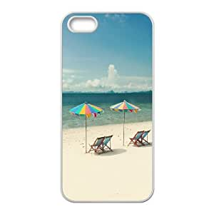 iPhone 5,5S Phone Case Beach Chairs U8T91538