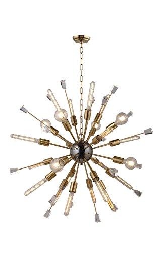 Decomust 40 Large Mid Century Modern Sputnik Light Fixture