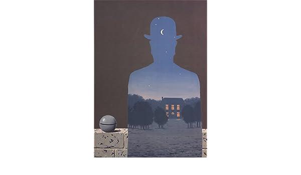 Rene Magritte-L/'Heureux Donateur-Poster