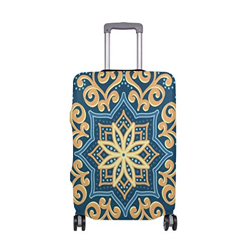 Suitcase Cover Flower Vintage Luggage Cover Travel
