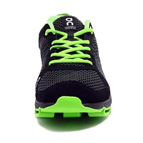 On Womens Cloudsurfer Sneaker  Black Lime 6 5 B M  Us