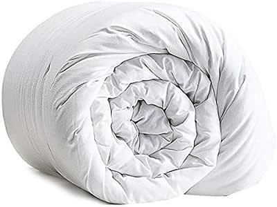 IBed home Duvet - Size 220x240cm Microfibre King, White, W 50.0 x H 29.4 x L 22.8 cm
