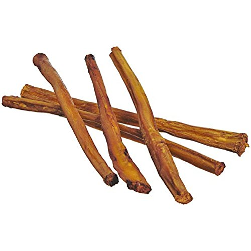 7-Straight-Bully-Sticks-for-Dogs-Medium-Thickness-Natural-Low-Odor-Bulk-Dog-Dental-Treats-Best-Thick-Pizzle-Chew-Stix-7-inch-Chemical-Free