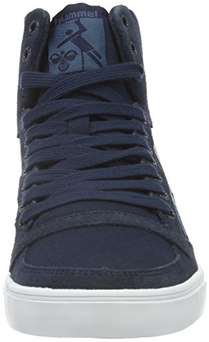 Hautes Total Duo Bleu Eclipse Mixte Slimmer Stadil Adulte Sneakers Canvas High Hummel EYvwqw