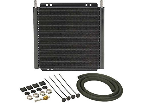 - Derale 13504 Series 8000 Plate and Fin Transmission Oil Cooler