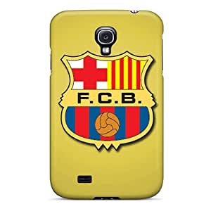 Samsung Galaxy S4 GuS5416WDqH Allow Personal Design Realistic Fc Barcelona Series Shock-Absorbing Hard Cell-phone Case -KennethKaczmarek