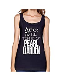 Ocido Alice in The Temple of Pearl Garden Classic Tank Tops for Girls Black