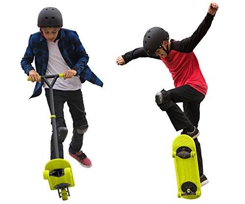 MorfBoard Skate & Scoot Combo Set, Chartreuse/Black Color