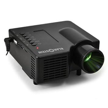 Klarstein YX4B Mini Proyector LED USB SD HDMI VGA: Amazon.es ...