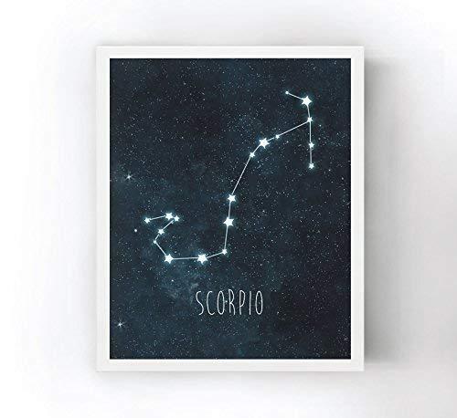 Scorpio Constellation Art Print