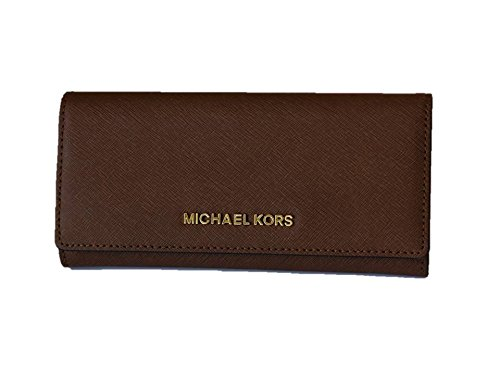 Michael Kors Jet Set Travel Saffiano Leather Carryall Wallet by Michael Kors
