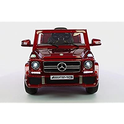 Ride on Toy  Licensed   MERCEDES Car 12v Battery Powered Wheels Remote Control: Toys & Games