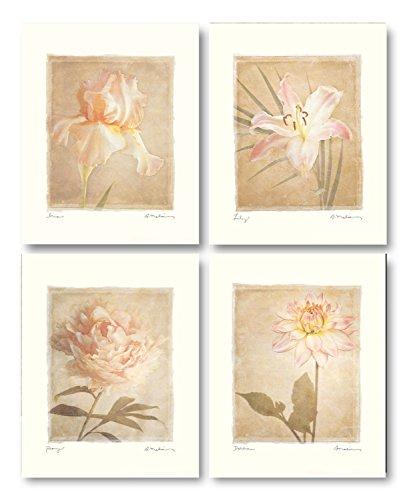 Coral Floral Print - 6
