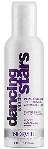 Dancing With The Stars Performance Sunless Self-Tanning Mist - Airbrush Spray Solution with Bronzer for Instant Sun Kissed Glow, 4 fl.oz. -