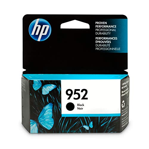 - HP 952 Black Ink Cartridge (F6U15AN)
