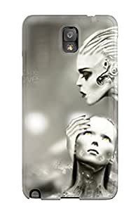 New Style Denise Cook Hard Case Cover For Galaxy Note 3- Cyborg