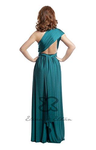 22 Grün Tragevarianten Eliza one Wickelkleid Abendkleid Brautjungfernkleid amp; size Ballkleid Jade Ethan 8qwg1ExT7