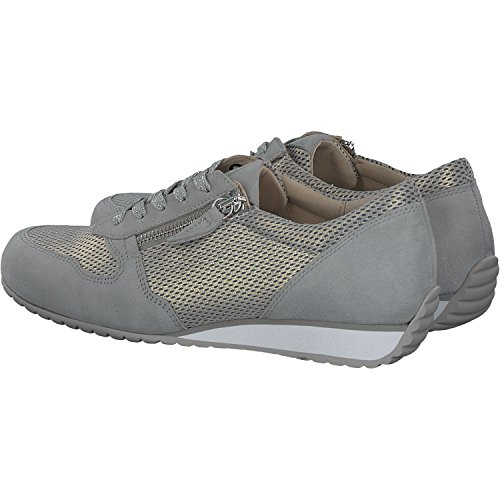 Suede Gabor Comfort Donna Derby Light Stringate Basic Grey Scarpe wqwZ8xpP