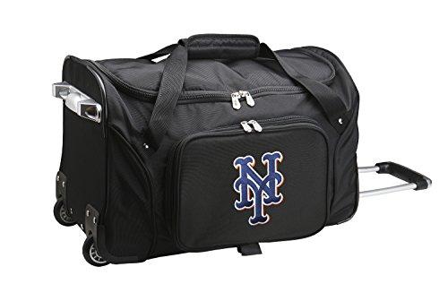MLB New York Mets Wheeled Duffle Bag 5adb23906b9b8
