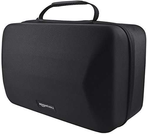 AmazonBasics Carrying Case for PlayStation VR Headset and Accessories - 15 x 10 x 8 Inches, Black